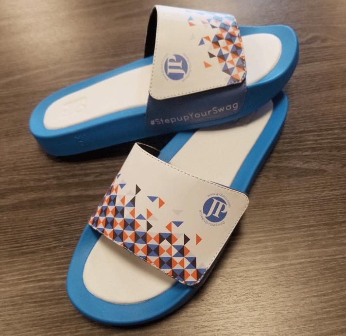 J Paul Branded Sandals