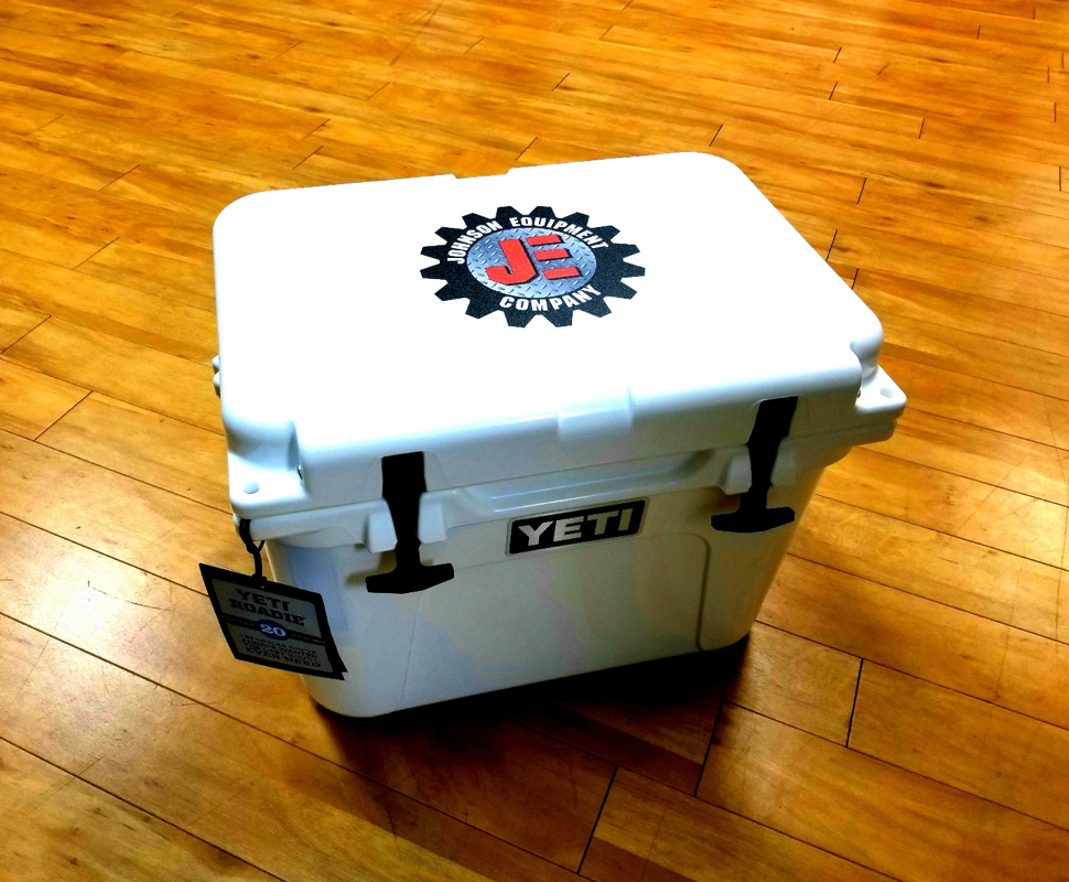 The J Paul Co. Branded Yeti Cooler